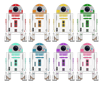 KN-series Astromech Droids by Cameronwink