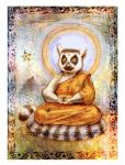 The Great Lemur Buddha by zuckerglider