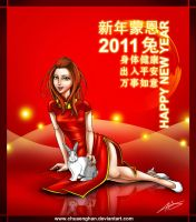 Happy Chinese New Year 2011 by chuaenghan