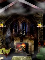 The Slytherin Common Room by Filmchild