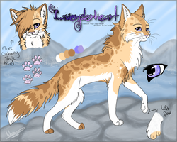 Lavenderheart char sheet by Wazilikie