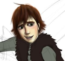 Hiccup Preview by onewingedtenchi