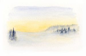 Watercolour 08 - Winter by Itherin