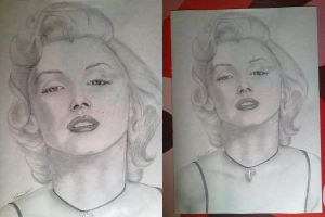 Marilyn Monroe by mhrcoldfire93