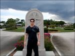 Zak In Front of Stone by 75tennis