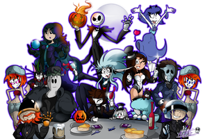 An Old Haven Halloween Party by TheUnusualGoth