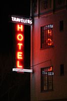 Travelers Hotel by robotdreams