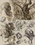 Drawings from sketchbook Knucklebreath by GeniusFetus