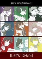 Kagerou project : [Let's DAZE] by azukajung