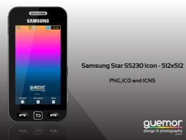 Samsung Star - S5230 Icon by guemor