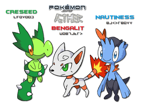 AE: Meet the starters by CupOJo