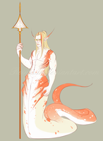 Peach Naga Adoptable {CLOSED} by Reimann