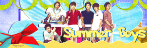 [CoverZing] EXO-K - The Summer Boys by lapep999