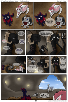 ATFtDR: The Broken Cycle - Home (Page 1) by Lyorenth-The-Dragon