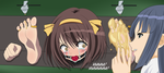 The Nightmare of Haruhi Suzumiya by Unlimited-Tickles