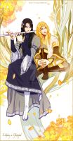 Ecthelion and Glorfindel by navy-locked
