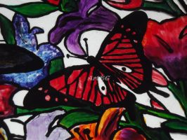 Butterfly on Glass by CreazioniArtEC