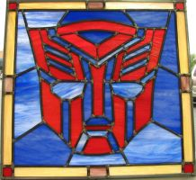 AutobotStained Glass II by AutobotWonko