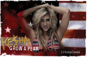 Ke$ha Grow A Pear Cover by KeshaIsCannibal
