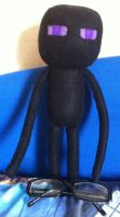 Minecraft: Enderman Plush by Jack-O-AllTrades