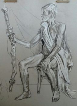 Figure Drawing by PDJ004