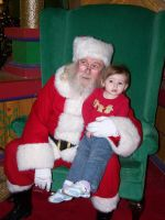 Eowyn and Santa by Thora-T