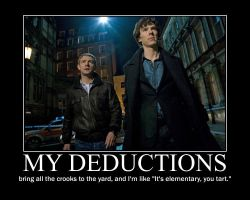 Sherlock's Deductions by Victor-Tirasov