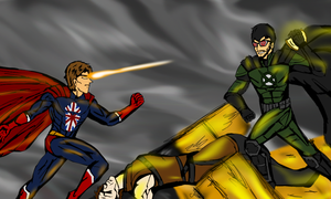 Achievement Hunter - INJUSTICE: LADS AMONG US by NaijMizuho