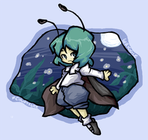 wriggle yourself nightbug by Cindysuke