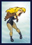 Black Canary by gypsygirlpress