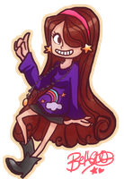 Mabel Pines by bethwhowishes