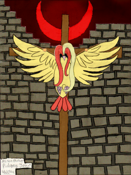 Pidgey Jesus (PNG) by SuicideParker