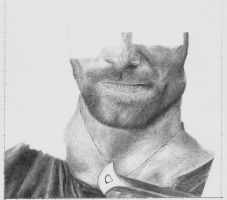 Aragorn WIP by Remenance