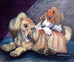 Angel and Klee by DanielleMWilliams