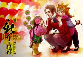 APH, the Chinese Family-Happy Chinese New Year by alexzoe