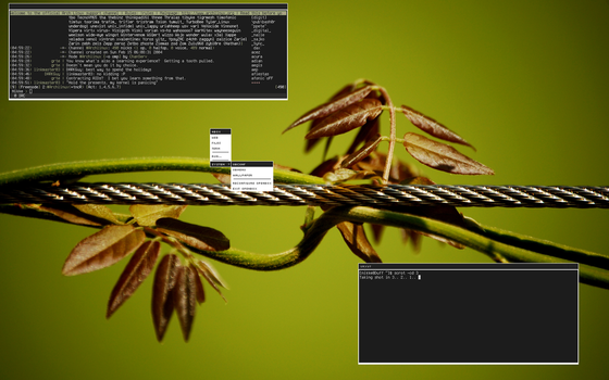 Archlinux - Openbox 27th Dec by Nikkee