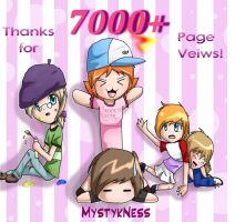 Thanks for 7000 by MystykNess