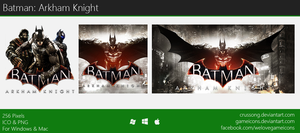 Batman: Arkham Knight - Icon by Crussong