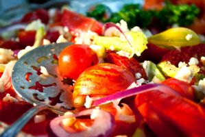 Heirloom Tomato Salad (2) by noregretting91