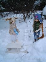 +playing on the snow+ by ilia21
