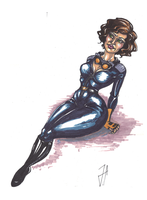 Catwoman by Jilue