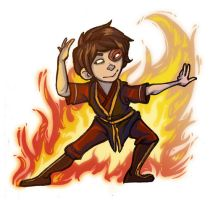 Zuko Sticker by lesliesketch