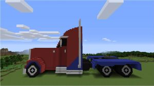 Transformers: Prime Optimus (Truck) - Side by NumairSalmalin