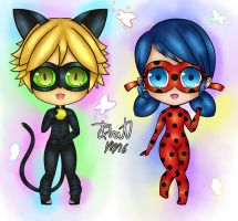 Miraculous Chibi by Trinity-Nevermore
