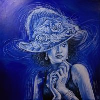 Women with hat by Rpriet1