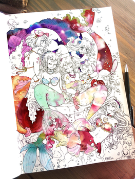 Mermaid Meetings by Egao-ho