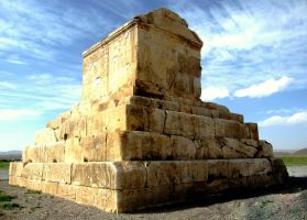 Cyrus The Great Tomb by zohreh1991