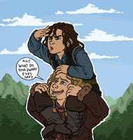 Hobbit: Bros by sparkyHERO
