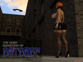 The alien abduction of Batbabe - Promo by THEFOXXX3D