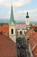 St Marks Church, Zagreb 1 by wildplaces
